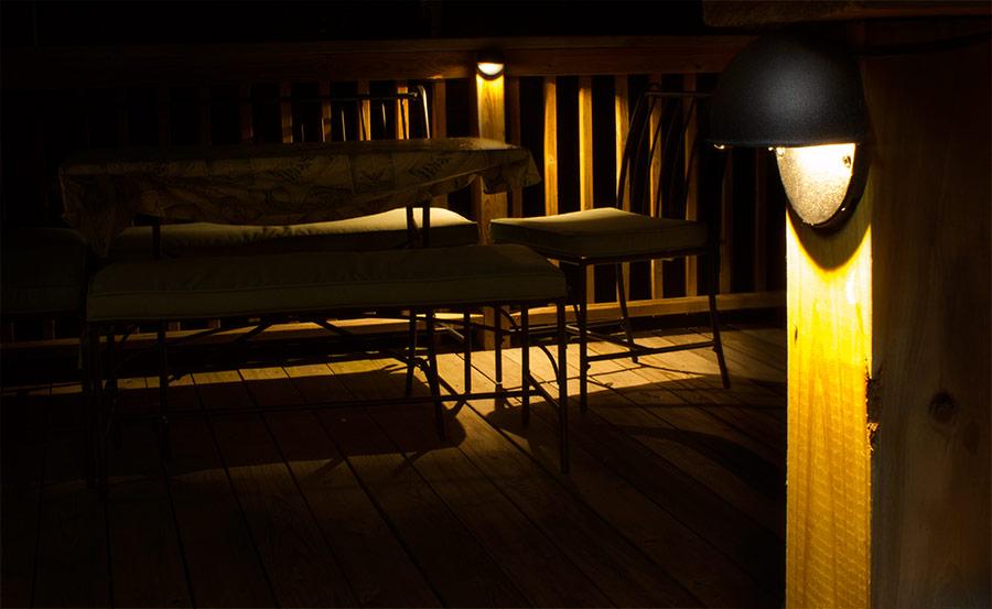 deck light 4 watt 85 lumens led deck lighting led deck lights