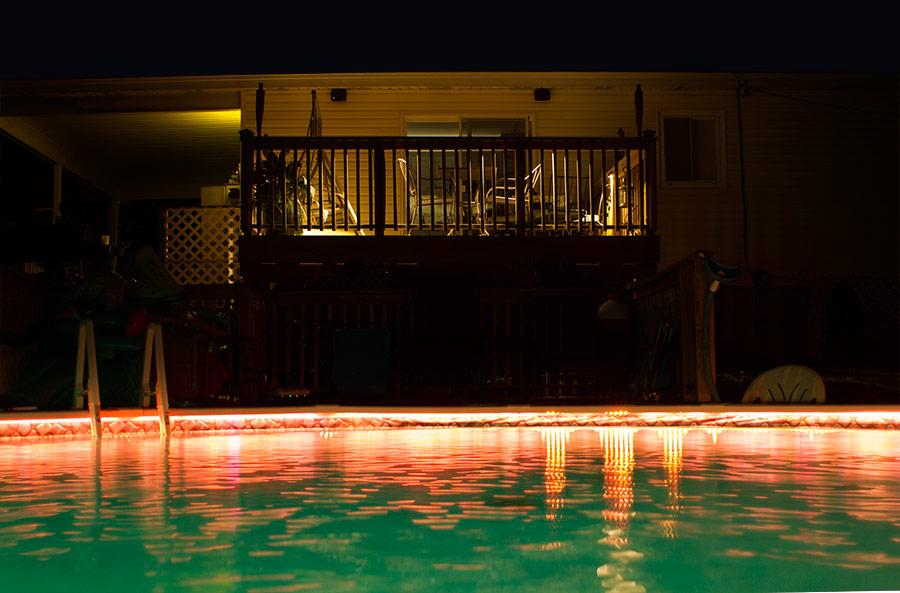 led eyelid step deck light 4 watt 85 lumens led landscape