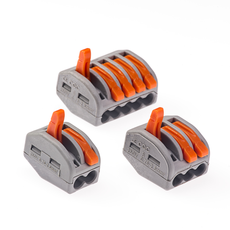 Quick Disconnect 2 Wire Connectors | 28 12 Ga Lever Lock Quick Connect Terminal Blocks Super Bright Leds