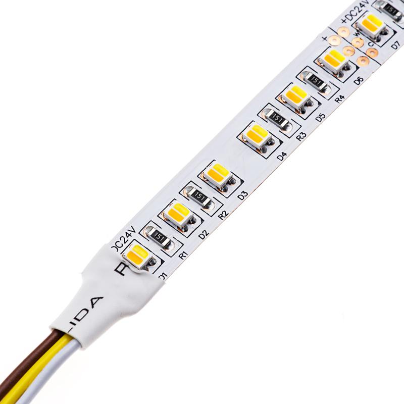 tunable white led strip light kit color temperature changing 24v led tape light 366 lumens. Black Bedroom Furniture Sets. Home Design Ideas