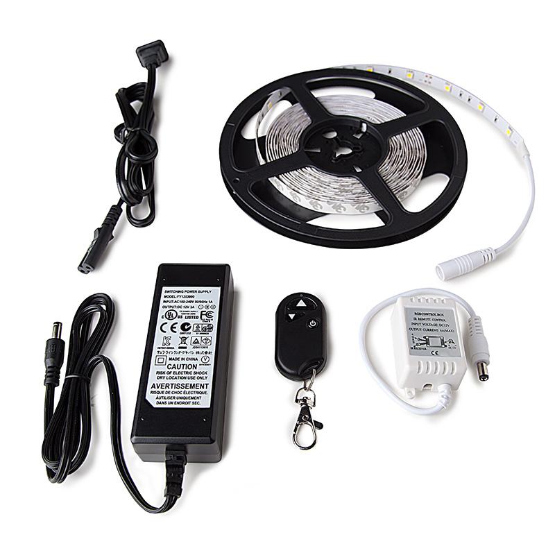 Universal LED Lighting Strip Kit NFLS X165X3 KIT Complete LED Strip Kits