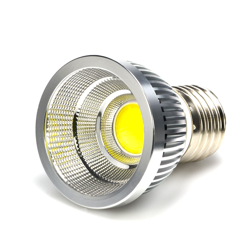 Led Spotlight Light Bulbs: PAR16 High Power COB LED Bulb, 4W