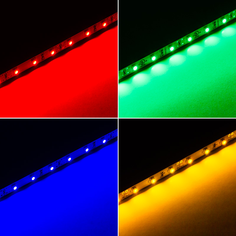 Narrow rigid led light bar w high power 1 chip smd leds 255 rlbn series narrow rigid light bar w1 chip leds available in red green blue and yellow mozeypictures