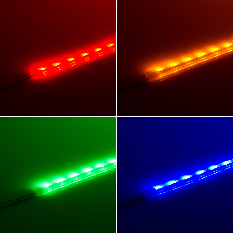 SWFLS X60 LED Waterproof Flexible Light Strip Side Emitting In Red, Yellow,  SWFLS X60 LED Waterproof Flexible Light Strip Side Emitting In Red, Yellow,  ...
