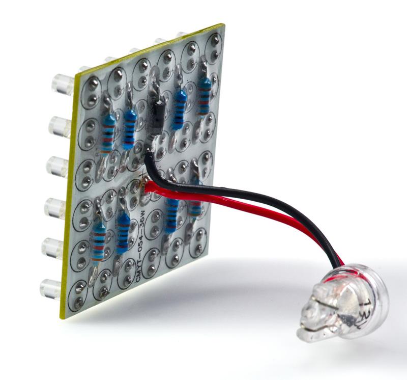 T3.25 LED Bulb - 36 LED PCB Lamp - Miniature Wedge Retrofit ...