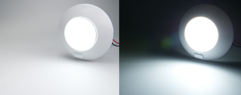 5 5 Watt Round Dome Light Led Fixture With 3 Position
