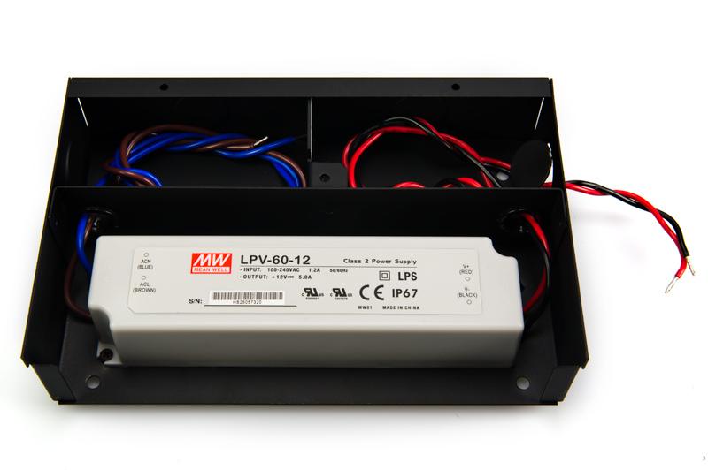 TRC E LPV203560 led power supply installed nema 1 power supply steel enclosure for lpv lpc 20, 35, 60 mean well lpv-60-12 wiring diagram at cos-gaming.co