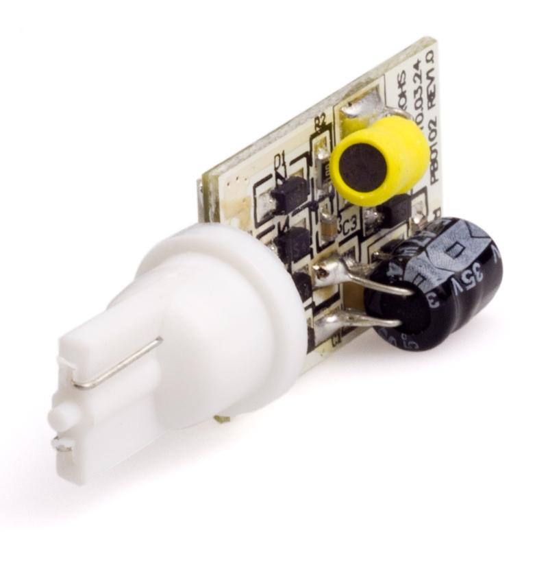 194 Led Bulb 6 Smd Led Wedge Base Rac Miniature Wedge Base Leds Led Car Light Bulbs