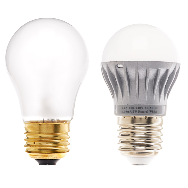 a15 globe led bulb with a15 bulb for comparison - A15 Bulb