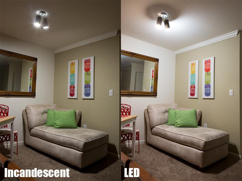 a19 led bulb 60 watt equivalent dimmable 840 lumens super bright leds