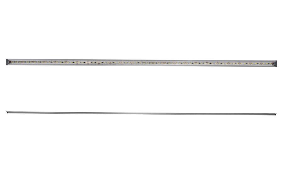 linear led light bar fixture w   dc barrel connectors