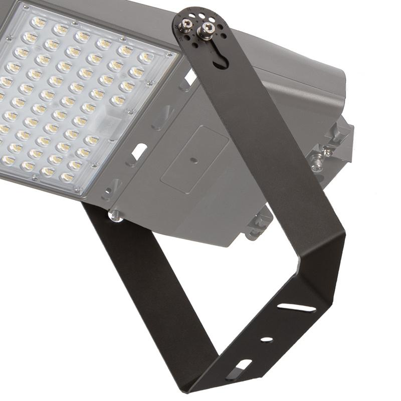 Adjustable U-Bracket For LED Parking Lot Lights