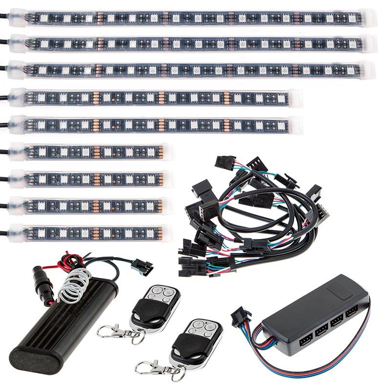 Outdoor Steps And Railing Led Lighting Kit Weatherproof