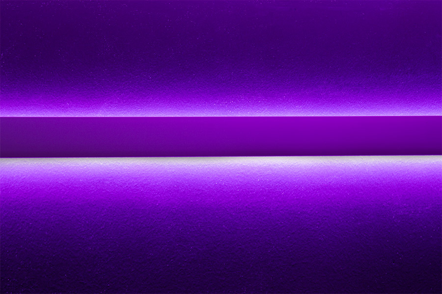 2 wide updown aluminum profile housing for led strip lights 2 wide updown aluminum profile housing for led strip lights shown installed on wall with purple led strips strips not included aloadofball Gallery