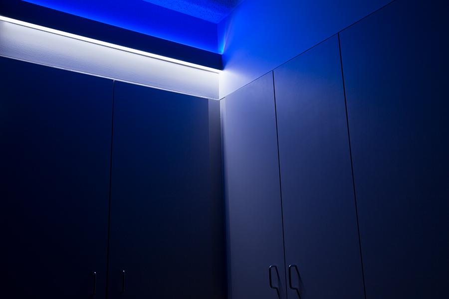 3 1 2 wide up down aluminum profile housing for led strip lights anodized aluminum led. Black Bedroom Furniture Sets. Home Design Ideas