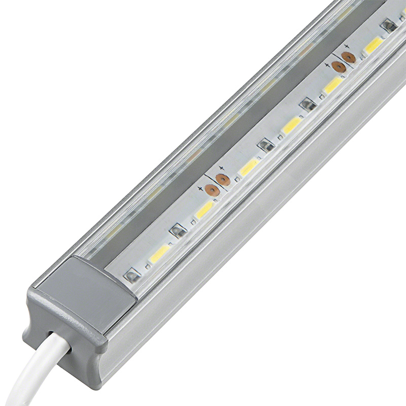 Aluminum led light bar fixture deep profile surface for Bar fixtures