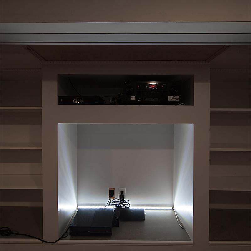 lighting corner. Corner Mount Aluminum LED Light Bar Fixture - 1,440 Lumens Lighting