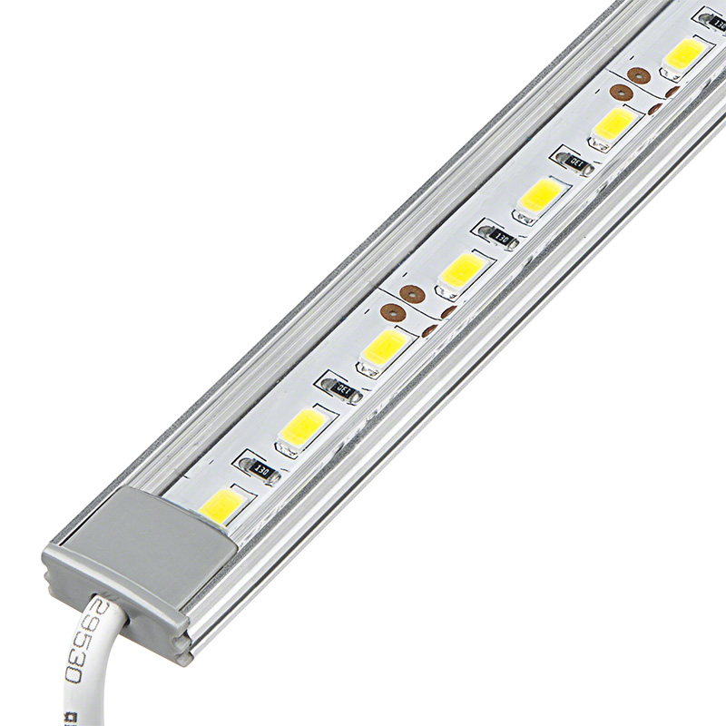 aluminum led light bar fixture low profile surface mount 1 440 lumens a. Black Bedroom Furniture Sets. Home Design Ideas