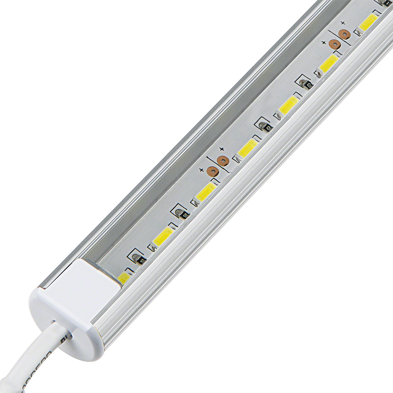 O shaped aluminum led light bar fixture 1 440 lumens for Bar fixtures