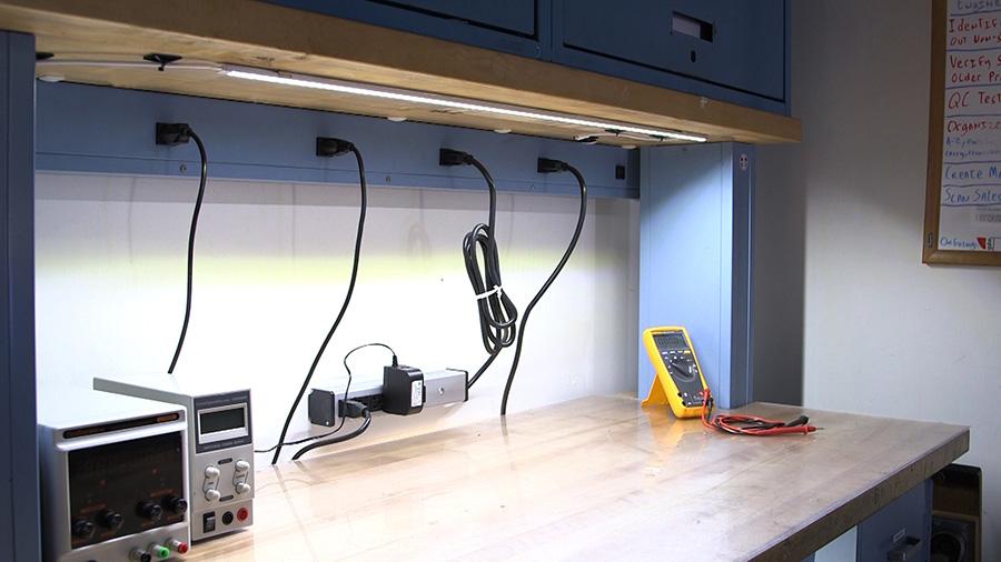 aluminum led light bar fixture low profile surface mount 1 440