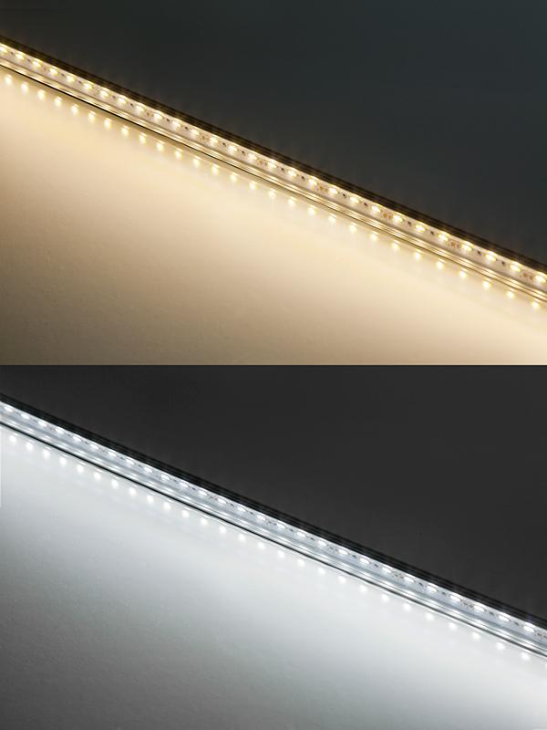 ALB Series Aluminum LED Light Bar Fixture   Low Profile Surface Mount: Warm  White U0026 Cool White