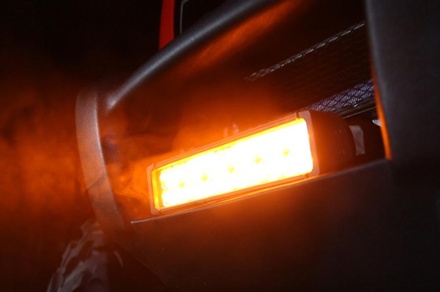 12 Dual Row Heavy Duty Off Road Amber LED Light Bar 60W LED Work Li
