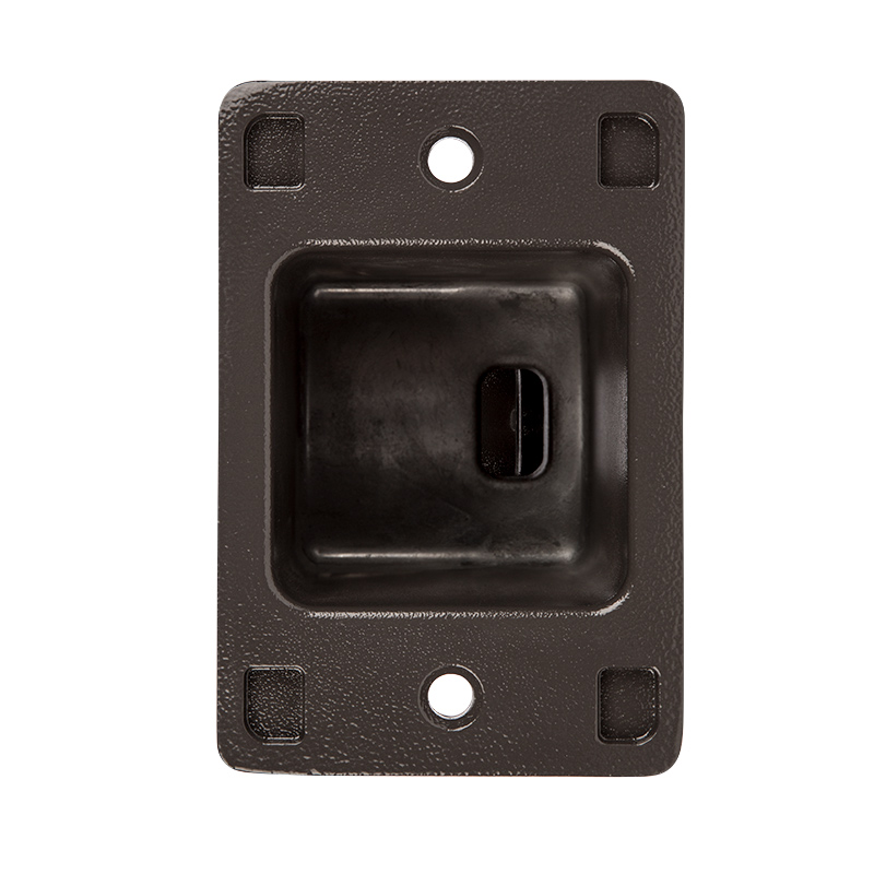 Cost To Install Parking Lot Light Pole: Large Square Pole Mount Kit For 400W LED Dimmable Parking