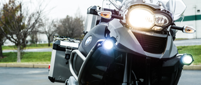 Motorcycle Auxiliary Lights