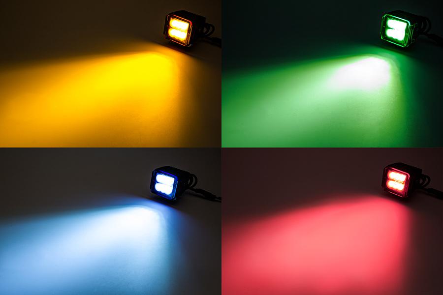 Led Boat Light 3 Quot Square Spot Or Spreader Light 13w