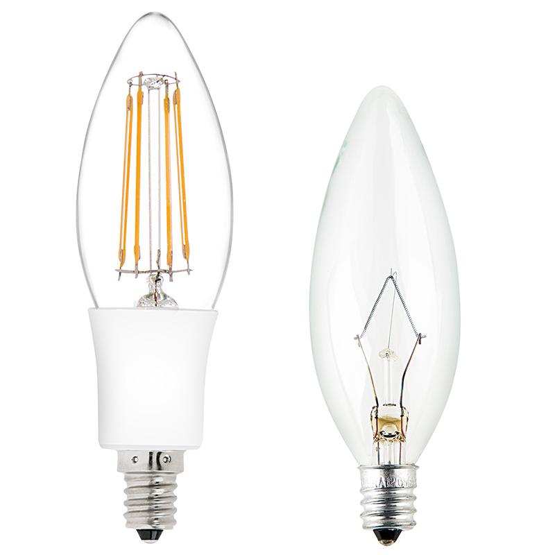 Brightest Led Candelabra Bulb: 35 Watt Equivalent Candelabra LED