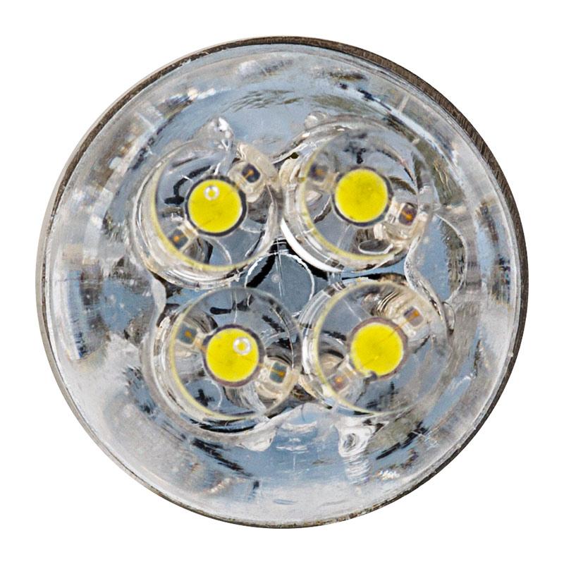 ba9s led bulb 4 led ba9s retrofit front view