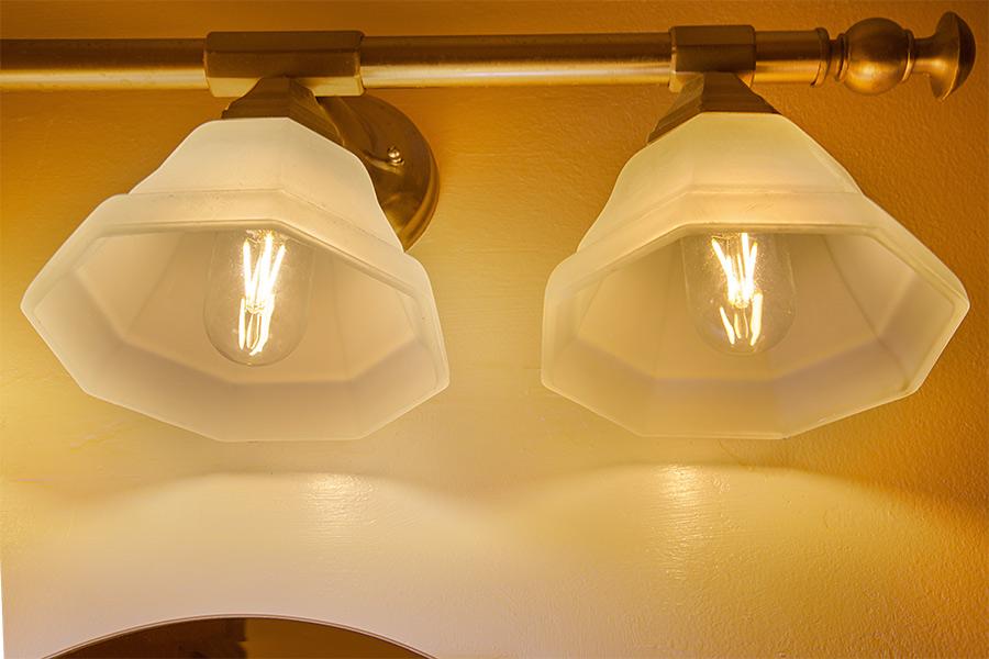 Bathroom Vanity Led Light Bulbs t14 led filament bulb - 35 watt equivalent vintage light bulb