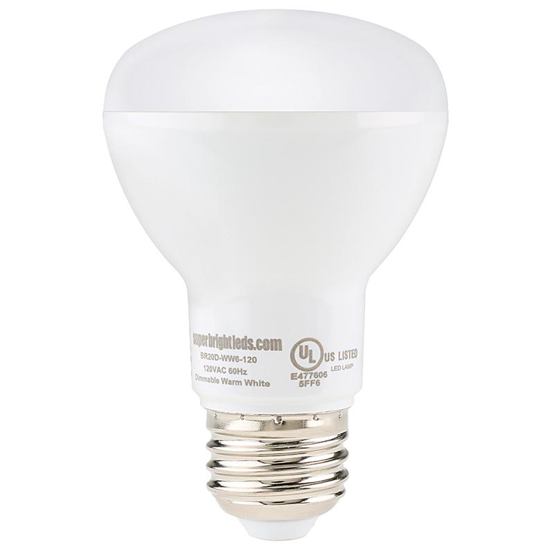 r20 led bulb 6 watt dimmable led flood light bulb. Black Bedroom Furniture Sets. Home Design Ideas