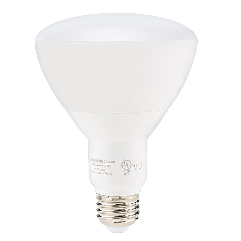 Br30 Led Bulb 15 Watt Dimmable Led Flood Light Bulb 1 530 Lumens Led Home Lighting
