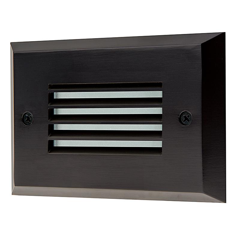deck step accent light 55 lumens led deck lighting led deck. Black Bedroom Furniture Sets. Home Design Ideas