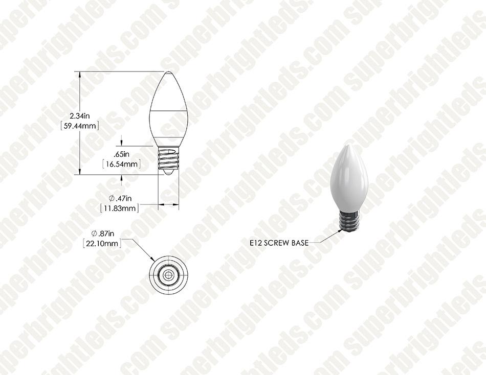 c7 led bulbs