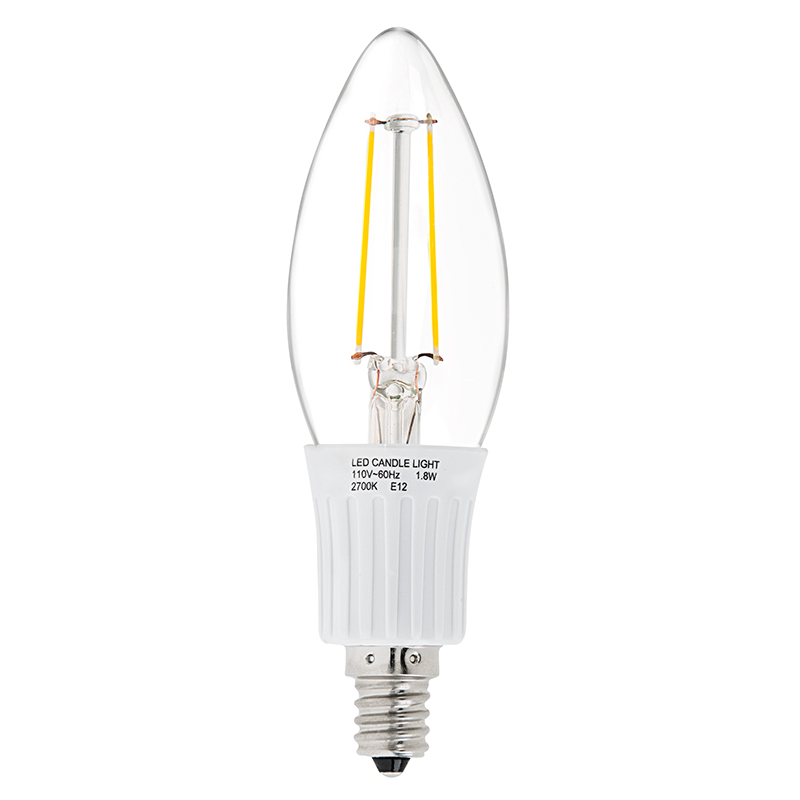 led filament bulb b10 led candelabra bulb with 2 watt filament led. Black Bedroom Furniture Sets. Home Design Ideas