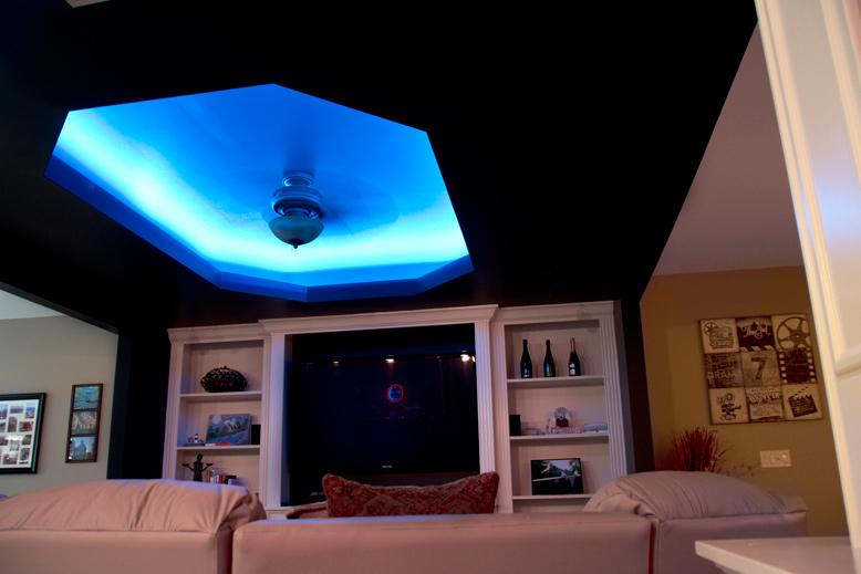 Nfls rgb150 kit color changing flexible led light strip for Led lights for high ceilings
