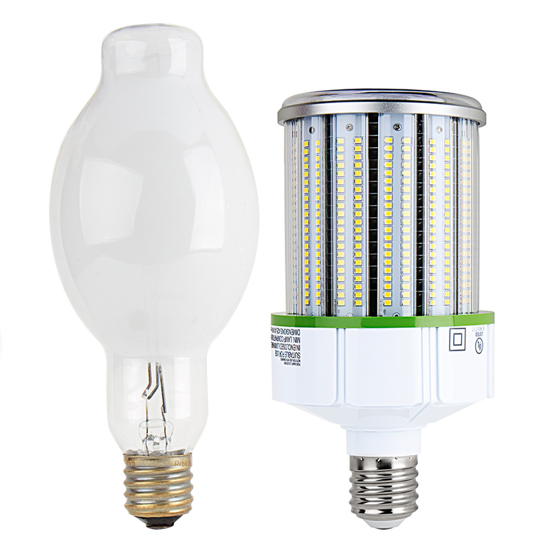 180/° Commercial Led Bulb for Parking Lot 150W Metal Halide Equivalent Wall Pack 36W Corn LED Light Bulb with Rotating E39 Screw Base 4000K 4320 Lumens 8 Pack Street or Flood Lighting Fixtures