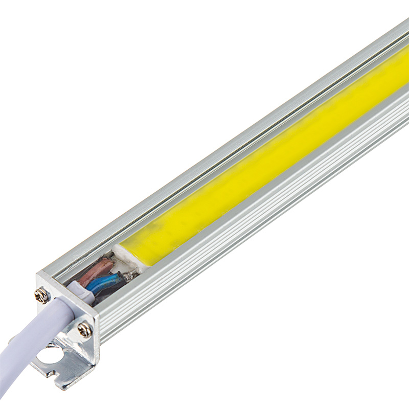 Cob led linear light bar fixture 2 400 lumens aluminum for Bar fixtures