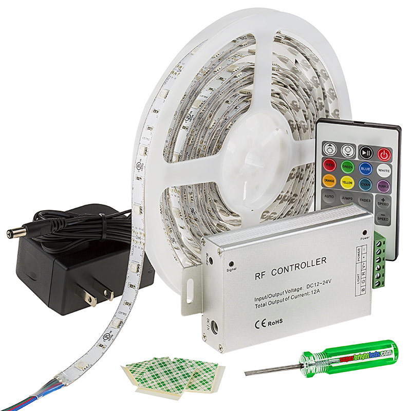 Led Light Strip Full Kit With Multi Color Leds Led Tape