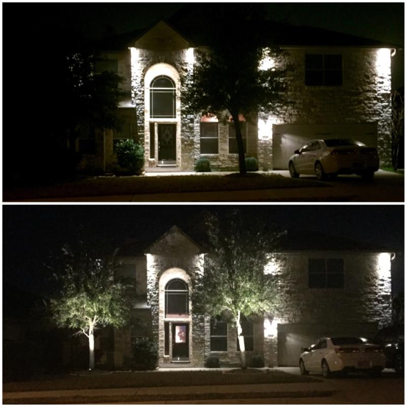 Glux landscape lighting reviews : Watt landscape led spotlight w mounting spike