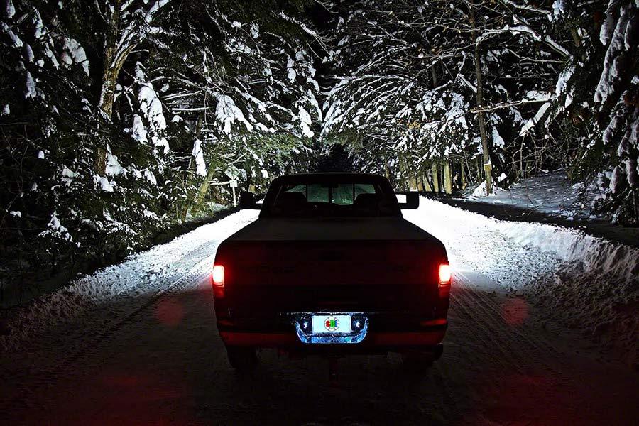 Truck Light Bulbs: LED Headlight Kit - H11 LED Headlight Bulbs Conversion Kit: Customer  Installed In Truck,,Lighting