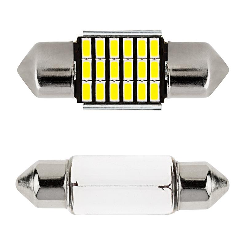 De3022 Can Bus Led Bulb 18 Smd Led Festoon 31mm 90 Lumens Festoon Base Led Bulbs Led