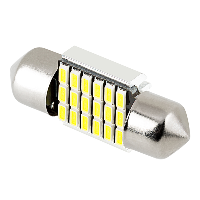 De3022 Can Bus Led Bulb 18 Smd Led Festoon 31mm 90 Lumens Festoon Base Led Bulbs Led