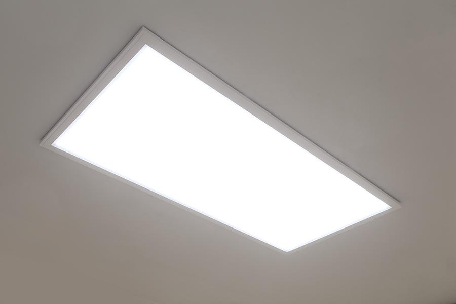 Flush Mount LED Panel Light - 2x4 - 4,500 Lumens - 40W Dimmable Even ...