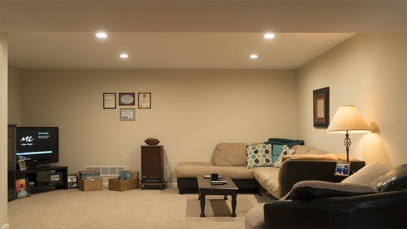 Square Led Recessed Lighting Kit For 5 Quot 6 Quot Cans Retrofit