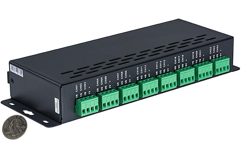24 Channel Led Dmx 512 Decoder Led Controller Amp Led
