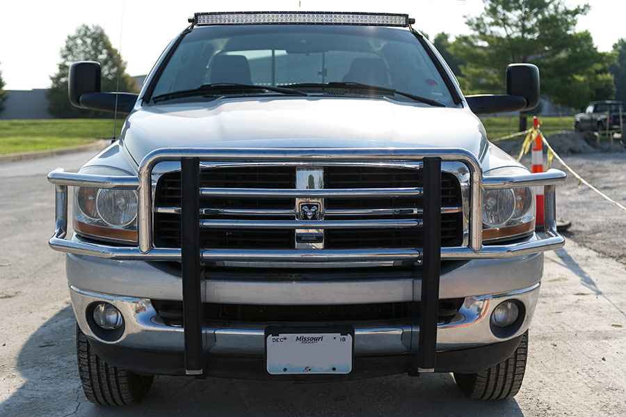 Dodge ram 1500 02 2008 and ram 25003500 03 2009 rooftop led dodge ram 1500 02 2008 and ram 25003500 03 2009 rooftop led light bar mounts straight 50 single row led light bars shown installed with 50 curved aloadofball Gallery
