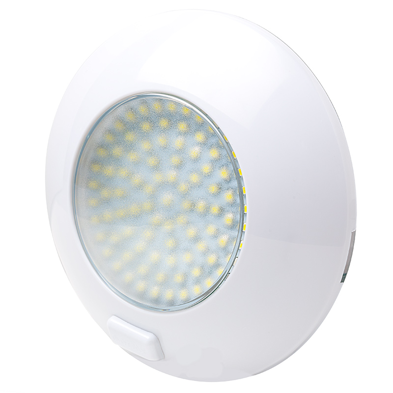 5.5 Watt Round Dome Light LED Fixture with 3 Position Switch Dome Lights Super Bright LEDs